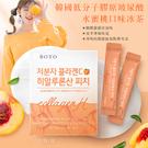 韓國 BOTO 低分子膠原玻尿酸水蜜桃口味冰茶/盒
