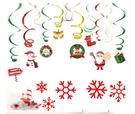 [拉拉百貨]聖誕節螺旋吊飾 裝飾小物 萬聖節 派對 場地佈置 萬聖節裝飾 節慶小物