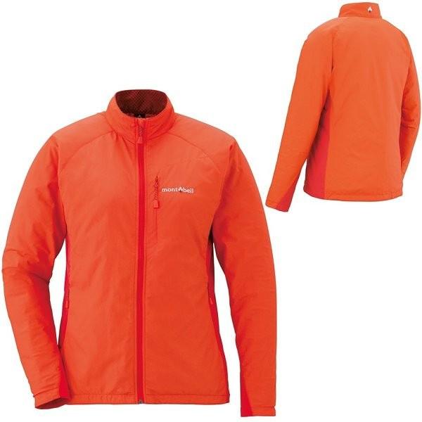 【山水網路商城】日本mont-bell LIGHT SHELL 女款風衣夾克/內刷毛/抗靜電 1106558 MAN 橘