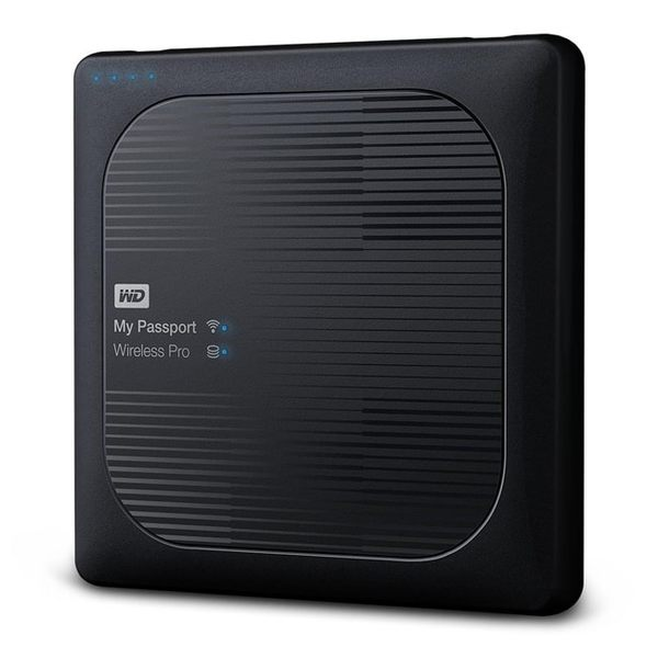 WD My Passport Wireless Pro 1TB 2.5吋 Wi-Fi 行動硬碟【刷卡含稅價】
