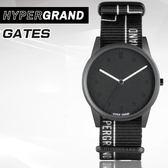 "Hypergrand新加坡設計師品牌01基本款系列""INHIBITION""GATES黑白柵門腕錶NW01GATE公司貨"