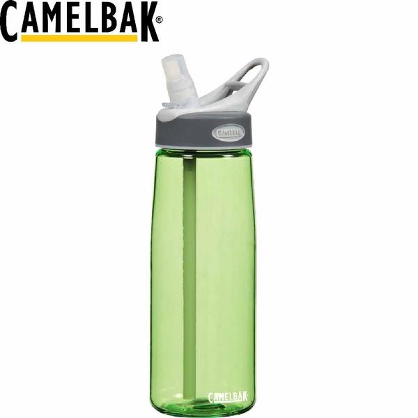 【CamelBak 美國 750ml吸管運動水瓶 淺綠】53135/運動水壺/水壺/耐撞擊/抗菌/提把/登山/露營★滿額送