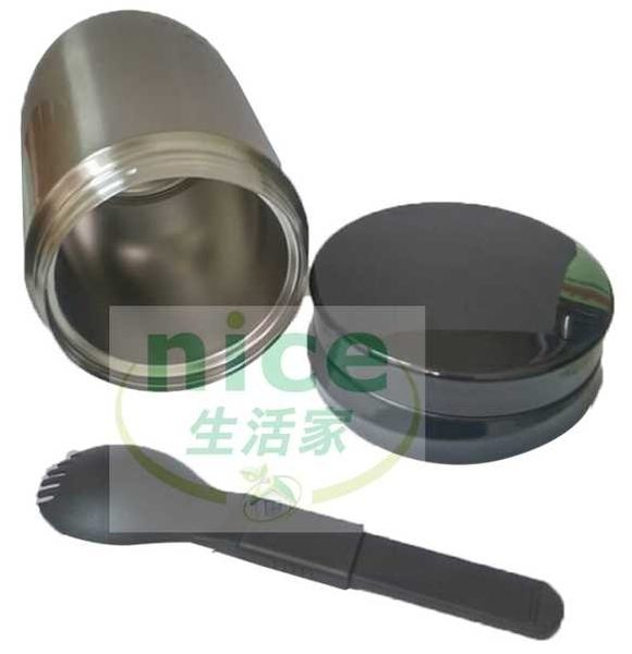 【BUFFALO牛頭牌】(內膽#304不鏽鋼) 500mL不銹鋼食物罐/湯品《刷卡分期+免運》