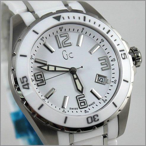 【萬年鐘錶】Gc瑞士 陶瓷錶 GXX85009G1S