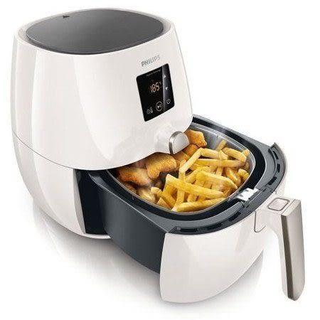 【贈專用煎烤盤+烤肉架+食譜】飛利浦PHILIPS觸控式健康氣炸鍋HD9230 白色(另售HD9240)