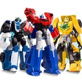 威將變形玩具金剛5大黃蜂汽車人合金版恐龍鋼索手辦模型玩具