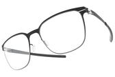 Ic! Berlin光學眼鏡 ICHIRO I. OCEAN BLUE (霧藍-霧藍) 率性低調經典框 薄鋼眼鏡 # 金橘眼鏡