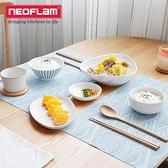 4片裝 PVC餐桌墊隔熱墊餐墊家用餐盤碗墊子防燙墊【樂淘淘】