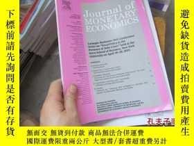 二手書博民逛書店journal罕見of monetary economics 2