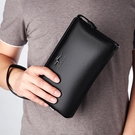韓版休閒手拿包男生包包 軟皮密碼鎖男士手機包 簡約時尚潮流夾包手抓包 商務大容量手拿包手包