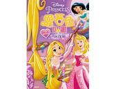 迪士尼公主愛著色貼畫:浪漫紫(RCA12)【貼紙書】