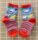 【震撼精品百貨】Shin Kan Sen 新幹線~三麗鷗 新幹線兒童襪子(14~19CM)-藍紅#04523