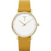 【台南 時代鐘錶 TYLOR】自由探索精神 風格多變極簡設計腕錶 TLAF001 皮帶 33mm