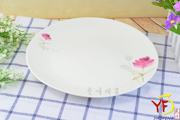 【堯峰陶瓷】餐桌系列 骨瓷 情定一生 10吋 淺盤 盤子 圓盤 | 新婚贈禮首選 | 新居落成禮 | 現貨