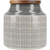 《CreativeTops》Drift陶製密封罐(羽毛灰)