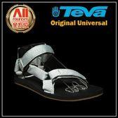 【Teva】男款 Original Universal 經典緹花織帶涼鞋 - 灰色 (1004006MDGR)【全方位運動戶外館】