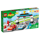 LEGO 樂高 Duplo 得寶系列 10947 賽車競賽 【鯊玩具Toy Shark】