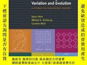 二手書博民逛書店Gene罕見Genealogies, Variation And