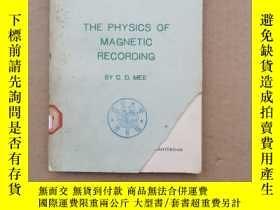 二手書博民逛書店the罕見physics of magnetic recording(P1406)Y173412