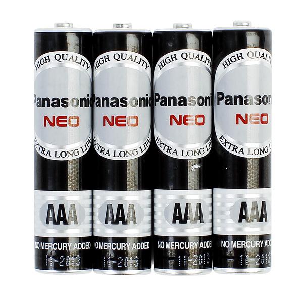 國際牌Panasonic 黑錳電池 4號 AAA 4入*15組/盒