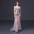 (45 Design)   夜店 性感 手工水鑽 客製化顏色大尺碼訂做訂做 日韓婚紗禮服 高級訂製服 連身裙5