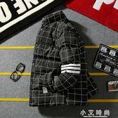 立領棉服男士修身帥氣棉衣韓版短款外套男裝 小艾時尚