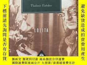 二手書博民逛書店Lolita罕見洛麗塔 Vladimir Nabokov 納博科夫 Everyman's Library 人人文庫