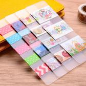 【BlueCat】和紙膠帶霧面磨砂分裝板 分裝片 (15*5cm)