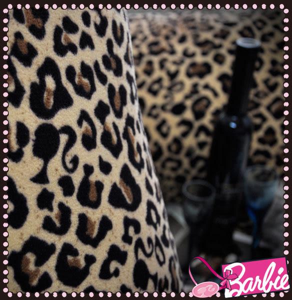 【Barbie】狂野之夜-雪芙絨單人床包二件組《SEXY NIGHT OUT《咖啡》》