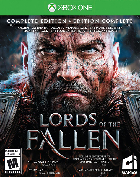 X1 Lords of the Fallen Complete Edition 墮落之王 完全版(美版代購)