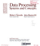 二手書博民逛書店 《Data Processing, Systems and Concepts》 R2Y ISBN:007067325X│McGraw-Hill Companies