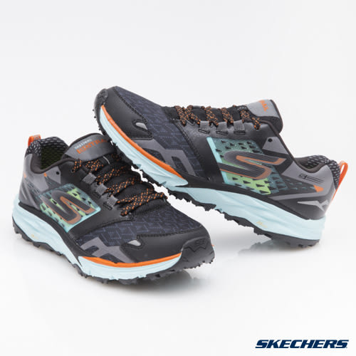 SKECHERS (女) 跑步系列 GO Trail - 14112BKAQ