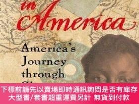 二手書博民逛書店Africans罕見in America: Americas Journey Through Slavery-美國