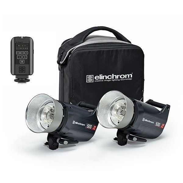 黑熊館 愛玲瓏 Elinchrom ELC PRO HD 500 TO GO 套組 雙燈套組 專業攝影 愛玲瓏套裝