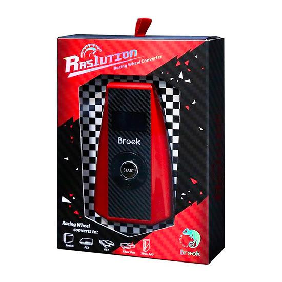 [哈GAME族]免運費●支援多平台●BROOK Ras1ution 方向盤轉接器 零延遲  熱插拔 PS4/PS3/XBOX/Switch