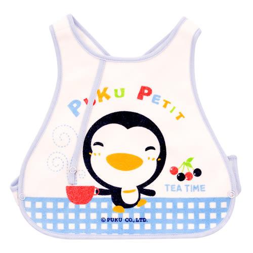 【奇買親子購物網】PUKU 背心圍兜(藍/粉)