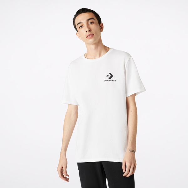 CONVERSE-白色短袖上衣-NO.10018234-A01