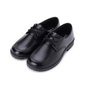 ARRIBA 綁帶素面學生鞋 黑 女鞋 鞋全家福