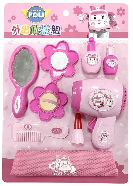 波力玩具系列-安寶外出化妝組←救援小英雄 益智 遊戲 玩具 小禮物 贈品 樂器 喇叭 敲琴 砂鈴