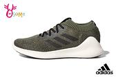 adidas PUREBOUNCE+ 成人男款 襪套式綁帶款 慢跑鞋 運動鞋 Q9338#綠色◆OSOME奧森鞋業
