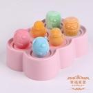 冰淇淋模具 迷你冰棍冰淇淋雪糕模具兒童家用食品級矽膠做冰糕小冰棒的磨具盒