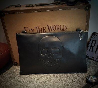 暗黑 AES 鬼頭 潮流 包款 肩背包 手拿包 信封包 外出包
