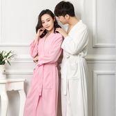 睡衣 情侶浴袍女夏溫泉浴衣加大碼SPA睡袍男睡衣春秋季