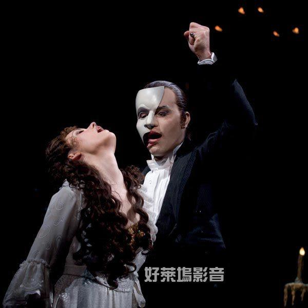 歌劇魅影 25周年紀念舞台版  Phantom of the Opera at the Royal Albert Hall   DVD