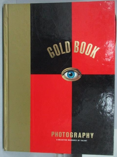 【書寶二手書T9/設計_YBZ】Gold Book_Photography_1993年