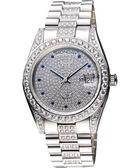 Ogival 愛其華 滿天星晶鑽機械腕錶 303291MW