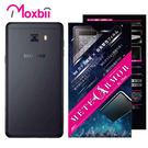 Moxbii SAMSUNG Galaxy C9 Pro 抗衝擊 9H 太空盾 Plus 背面保護貼(非滿版)