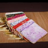中國風云錦錢包錦緞刺繡零錢包卡包女士小荷包民族特色送老外禮品