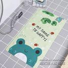 浴室防滑地墊 卡通動漫家用吸盤地墊 廁所淋浴衛生間可愛墊腳墊子