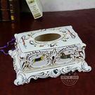 高檔歐式瓷陶瓷愛馬仕紙巾盒